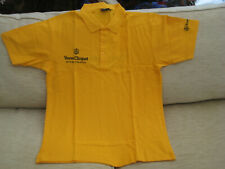 Veuve Clicquot Champagne Polo Shirt Size Medium Brand New 100% Cotton