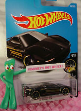 '90 ACURA NSX #262✰black;gold rim pr5✰NIGHTBURNERZ✰2017 US Hot Wheels case M