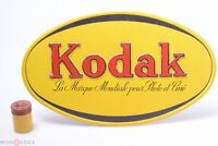 ✅ KODAK FRENCH BELGIAN CARDBOARD DEALERSHIP ADVERTISING SIGN WINDOW DISPLAY