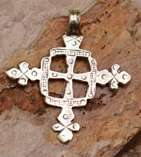 Large Coptic Cross in Sterling Silver, R-338