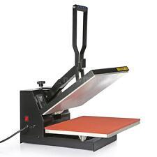 "Heat Press Transfer Digital Clamshell 15"" x 15"" T-Shirt Sublimation Machine Tool"