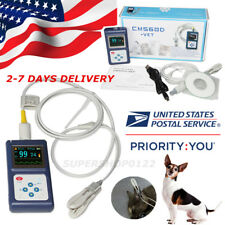 Veterinary Pulse Oximeter CMS60D-VET+Ear Tongue SpO2 Probe+PC Software USA STORE