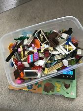 "2 Lb Bulk Loose LEGO Bricks, Pieces and Parts from ""Friends ""City"" - LOT"