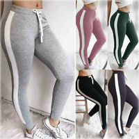 Women Sport Yoga Pants High Waist Fitness Leggings Running Gym Scrunch Trousers