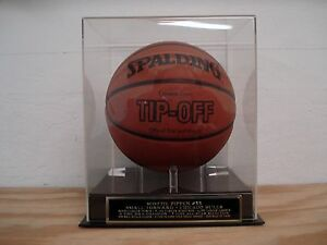Scottie Pippen Basketball Display Case For Your Bulls Autographed Basketball