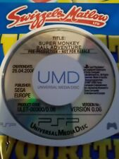 SUPER MONKEY BALL ADVENTURE v0.06 SONY PSP pre-produzione UMD RARI