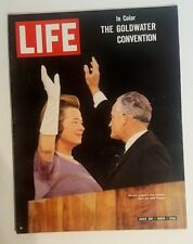 Life Magazine July 24,1964 The Goldwater Convention Cover Publisher Time mg 882