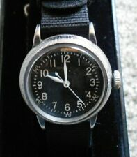 BULOVA MILITARY TYPE A-11 CAL 10 AKC WITH WORKING HACK MEN'S WATCH