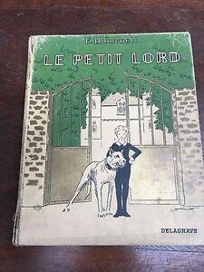 """Livre """"Le petit Lord """" Livre ancien / Livre de bibliotheque / livre rare"""