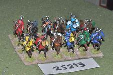 20 mm Caballeros Medievales/Crusader - 12 figuras-CAV (25293)