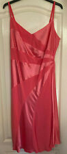 Marks and Spencer Autograph ladies bright pink dress