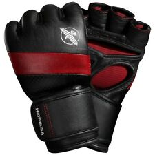 Hayabusa T3 4 oz. Dual-X Hook and Loop Closure Vylar Leather MMA Gloves