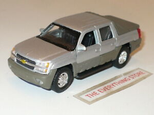 """WELLY CHEVY AVALANCHE SILVER METALLIC 4.75"""" LONG FREE SHIP"""