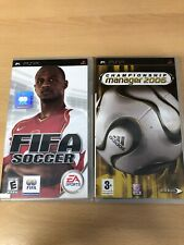 FIFA Soccer 2005 And Championship Manager 2006 Sony PSP,games