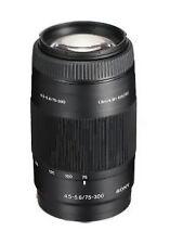 Sony Alpha SAL75300 75-300 mm F/4.5-5.6 AF MF Objektiv