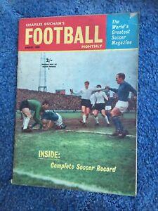 CHARLES BUCHAN'S FOOTBALL MONTHLY MAGAZINE - AUGUST 1964 ( RANGERS , SPRINGETTS