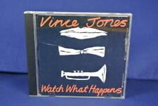 VINCE JONES Watch What Happens CD