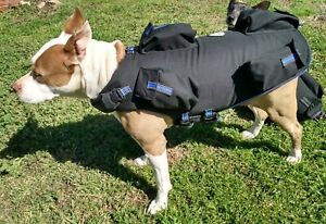 CANINE WEIGHT SET® 5 in 1 Weighted Dog Vest - Enhance Performance - Vest: Large