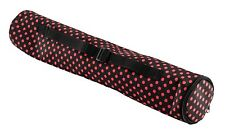 New Archer Chess Bag - Holds Vinyl Board & Pieces - Black with Red Dots