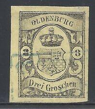 Oldenburg stamps 1859 MI 8  CANC  VF