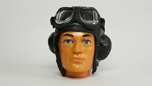 Vintage Action Man Palitoy RAF Flying Helmet + Goggles. Cotswold Reproductions.