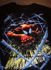 VINTAGE STYLE THE AMAZING SPIDER-MAN T-Shirt SMALL NEW Marvel Comics