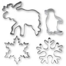 Ausstechformen / Ausstecher – Winterwunderland – Set, 4-teilig