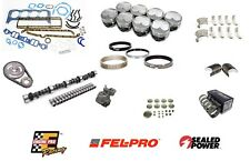 STG 4 PERFORMANCE REBUILD KIT SBC CHEVY 350 1967-1980 .100 DOME FORGED PISTONS