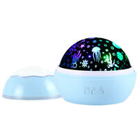 Star Night Light Universe LED Rotating Projector Desk Starry Lamp for Kids Gift
