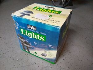 Malibu Low Voltage 10 Tier Light Kit Landscape Pathway-Power Pack-50' Cable New