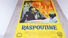 RASPOUTINE ! pierre brasseur affiche cinema hammer film 1954