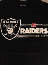 NFL Oakland Raiders T Shirt Vintage Graphic Official Marshawn Lynch Derek Carr L
