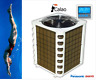 Calefacción Piscina 20kW CALAO20 Reversible COP6, 1 Teclado Táctil
