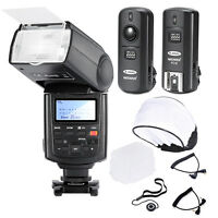 Neewer Professional Speedlite E-TTL *High-Speed Sync* Flash Kit for CANON