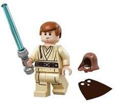 LEGO STAR WARS MINIFIGURE OBI-WAN KENOBI HOOD CAPE LIGHTSABER 75169