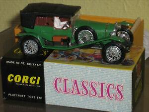 Corgi Classics 9001 1927 Bentley 3.0 Litre Le Mans with leaflet Mint in Box MIB