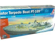 Italeri 1/35 WWII US Navy   PT-109  Elco  Motor Torpedo Boat Kit  # 5613 Kennedy