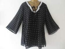 Holiday Polyester Spotted Tops & Shirts for Women