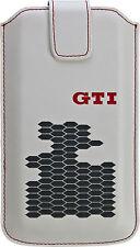 Volkswagen GTI Leder Universal Handy Tasche z.B.  Samsung G950 Galaxy S8