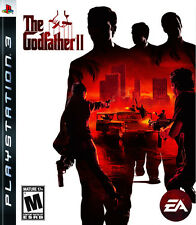 The Godfather II 2 (Sony PlayStation 3, 2009) PS3 Works Great - No Manual