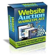 Website Auction Market Place + Free Hosting