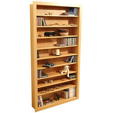 Large 730 CD 300 DVD Media CD DVD Storage Shelves - BEECH - MS0768M