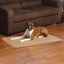 """Tan Siesta Dog Crate Mat Bed Non Skid Soft Quilted Design Small 24"""" x 17"""" Latte"""