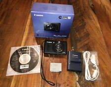 Canon Powershot S100 Black Digital Camera