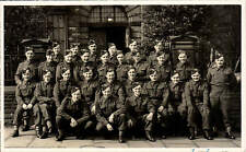 Huddersfield March 1941. OS.39 No 1 3rd O.T.B My First Squad. Instructor Crookes