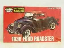 "Life-Like1/32 Scale U/A ""1936 Ford"" Roadster Plastic Model Kit #C-288:70"