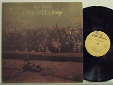 NEIL YOUNG  raro disco LP 33 giri TIME FADES AWAY + POSTER 1973 made in ITALY