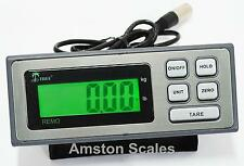 DIGITAL DISPLAY HEAD MONITOR READ OUT LOAD CELL FLOOR WEIGH SCALE RECHARGEABLE