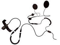 Motorcycle Intercom Radio Headset PMR446 Midland G7 G8 456R OPEN FACE