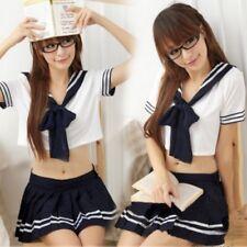 Cute Top Skirt Set Japanese Style School Girl Uniform Costume moe-moe DH ST6102